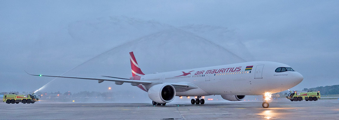 Arrival of the new Air Mauritius Airbus A330neo