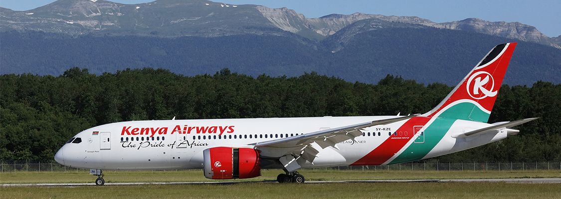Kenya Airways expands network with launch of Geneva route