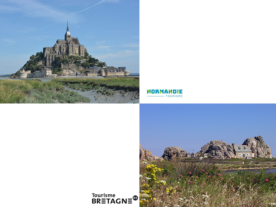 Direct flights to Brittany and Normandy